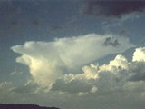 CH=3 Dense Cirrus, often the anvil remaining from Cumulonimbus.